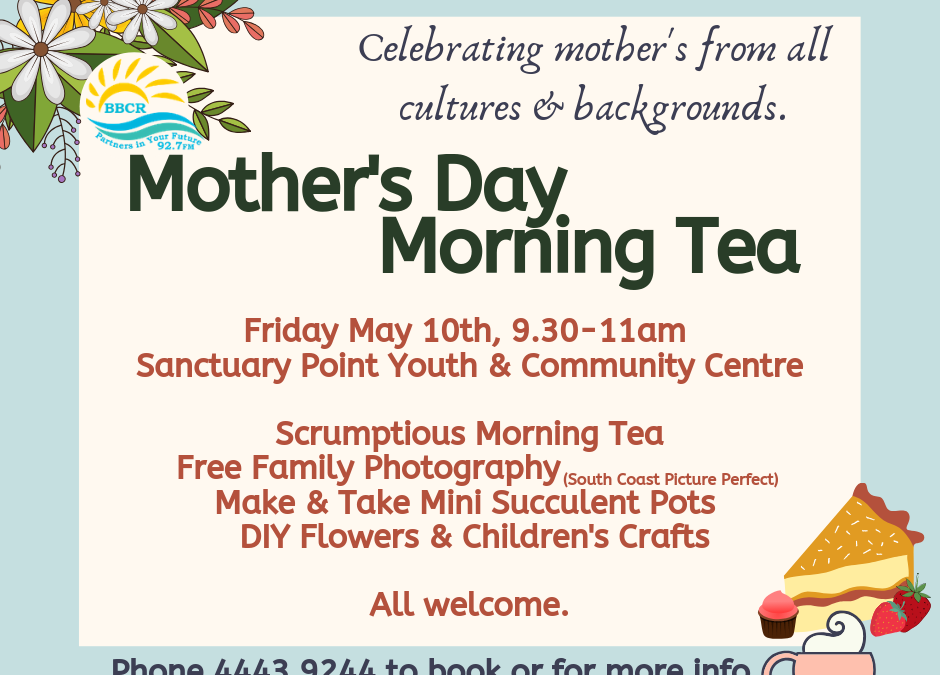 Mothers Day Morning Tea