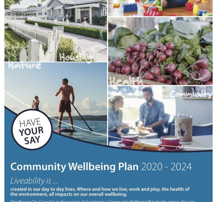Community Wellbeing Plan 2020-2024 Shoalhaven City Council Have Your Say!